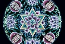 Mandalaweaver en dreamcatcher / Mandala weven en dreamcatcher