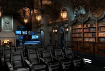 Themed Home Theaters / Home theater systems that are beautifully themed