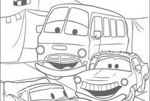 Cars: Disegni da Colorare