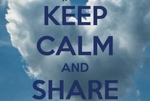 Keep Calm and Share Water / 2013, International year for Water Cooperation