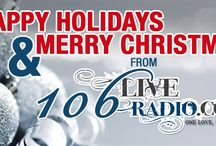 HAPPY HOLIDAYS AND MERRY CHRISTMAS FROM 106 LIVE RADIO / #TEAM106LIVERADIO - HAPPY HOLIDAYS AND MERRY CHRISTMAS FROM 106 LIVE RADIO - Your Caribbean and American Radio - Playing the hottest reggae, soca, hip hop, r&b and gospel Music. VISIT OUR WEBSITE @ WWW.106LIVERADIO.COM