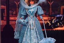 Blue dress gorgeous crochet