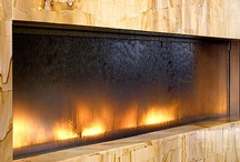 Wall Decor- Fire and Water Features  / by Joseph Johnson