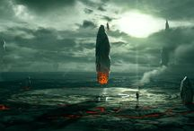 Numenera sci-fi fantasy Artwork