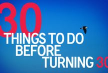 Things I want to do before 30