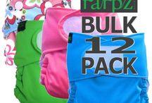 Cloth Nappy Packs / Bum Rarpz Cloth nappy bulk packs available now  http://www.rarpz.com/#!bulk-packs/c1fwt
