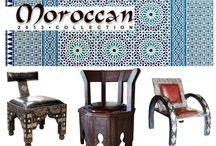 Mobilier marocan / Mobilier si decoratiuni Marocane.