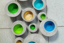 cuencos cemento