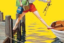 Fishing, camping, hunting