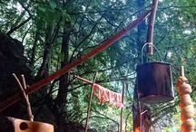 Las / Ciekawe pomysły do lasu, inspirujący bushcraft