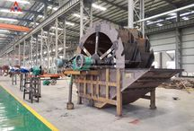 Sand Washer / Sand Washer can wash and separate the soil and foreign material in the sand. Its novel structure, adjustable overflow dam baffle and reliable arrangement can make sure the result of wash.