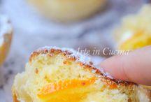 Tortone ricotta e arancia
