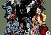 Zombie Movies Art