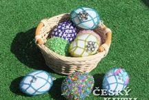 Velikonoce z korálků a drátků