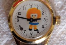 Vintage Novelty Watches And Clocks