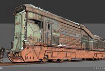 Sci-Fi Trains