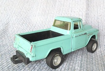 toy trucks and cars / by Sandy Taylor