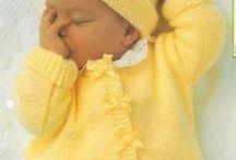 baby dolls knitting patterns