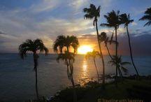 Napili Kai Oceanfront Sunsets