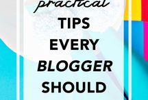 Blogging Tips / Blogging tips, social media tips, image editing tips
