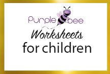 Worksheets for Children / Travelling with kids? Going to a restaurant? Here are some handy worksheets to take along. Keep your kids occupied during wait times and engage them in a useful way. #worksheets #kids worksheets #summer worsheets #holiday worksheets