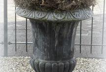 Voorjaars decoratie tuin