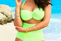 Beach Gear / Collection of swimsuits, coverups and gear thats perfect for the beach.