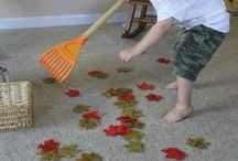 Montessori Fall Activities / We found some great activities and craft ideas just in time for fall.