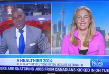 Tv and Radio / I love talking about health and wellness! In fact, when you get me started it is hard to shut me up :-) In these clips I was lucky enough to get to talk about health and wellness on TV and radio. Take a look. Would love to hear your feedback.