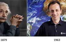14 DE MARZO / Tal día como hoy nacieron Albert Einstein y Pedro Duque