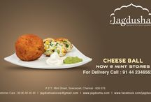 Jagdusha chat ads / Jagdusha is a popular sweet & savories shop in chennai. We are here to serve you a tasty Cheese ball. Cheese Balls is a perfect starter recipe and will be loved by all age groups and kids.