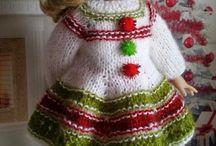 Doll vianočné oblečko