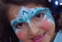 #1 Ansiktsmaling / Facepaint. Prinsesser og feer.