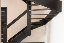 Schody policzkowe / Stairs / Treppe / Schody / Stairs / Treppe