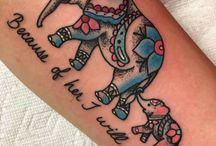 Tattoos I like, but won't get!