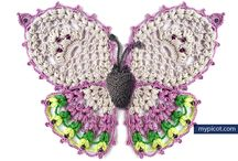 picot butterfly