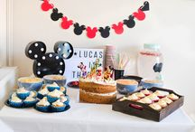 Lucas' Mickey Mouse themed third bithday