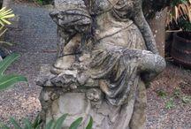 standbeeld (ge.tekenen)