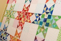 Quilt Scrappy Stash Busters / I think scrappy quilts are so interesting and it is amazing what beauty can come out of fabrics you wouldn't think of putting together in the same quilt!