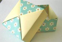 Papieren knutsels / 1-2-3 D ideeen