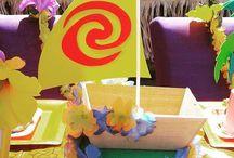 Birthday: Moana - Hawaiian