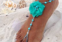 Beaded Barefoot Sandals