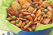 Snacks.... ----> yummo!
