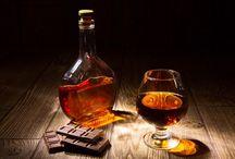 Cognac et chocolat / #mélange #cognac #chocolat