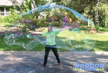 Big Bubbles / Extreme Bubbles makes world record bubble products in the USA. Family owned. / by Extreme Bubbles, Inc.