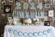 party backdrop