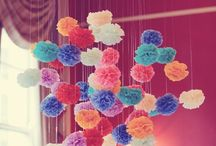 DECORATE: Fluffy balls / by Tina Gray