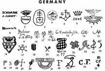 Porcelán jelzések