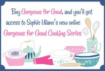 COOKING VIDEOS / Welcome to the Gorgeous For Good cooking school, where you can learn to cook all kinds of super healthy, vegan, sugar and gluten-free recipes / by Sophie Uliano