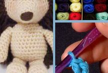 Handwork - Crochet - dolls & animals